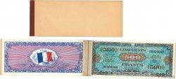 2 à 5000 Francs DRAPEAU FRANCE  1944 VF.16 à 23 SPL