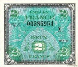 2 Francs DRAPEAU FRANCE  1944 VF.16.03 pr.NEUF