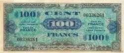 100 Francs DRAPEAU FRANCE  1944 VF.20.02 TB+