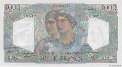 1000 Francs MINERVE ET HERCULE FRANCE  1949 F.41.28 SUP+