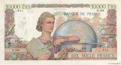 10000 Francs GÉNIE FRANÇAIS FRANCE  1946 F.50.12 TTB