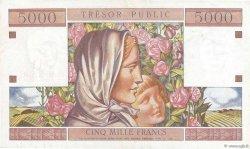 50NF sur 5000 Francs TRÉSOR PUBLIC FRANCE  1960 VF.39.01 SPL