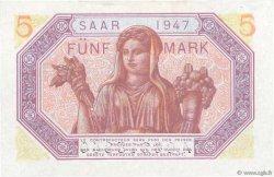 5 Mark SARRE FRANCE  1947 VF.46.01 NEUF