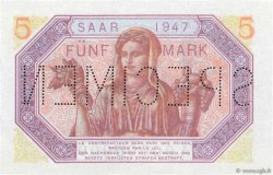 5 Mark SARRE FRANCE  1947 VF.46.02 NEUF