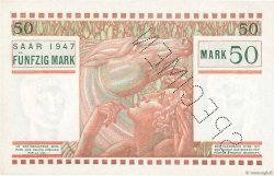 50 Mark SARRE FRANCE  1947 VF.48.02 pr.NEUF