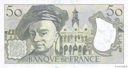 50 Francs QUENTIN DE LA TOUR FRANCE  1987 F.67.13 UNC
