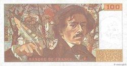 100 Francs DELACROIX modifié FRANCE  1978 F.69.00 SUP
