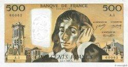 500 Francs PASCAL FRANCE  1968 F.71.01 TTB à SUP