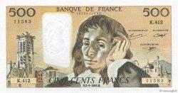 500 Francs PASCAL FRANCE  1993 F.71.52a SUP