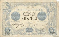 5 Francs NOIR FRANCE  1873 F.01.20 TB