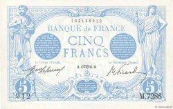 5 Francs BLEU FRANCE  1915 F.02.30 pr.SPL