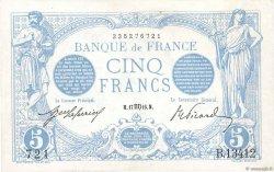 5 Francs BLEU FRANCE  1916 F.02.42 SUP