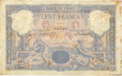 100 Francs BLEU ET ROSE  FRANCE  1889 F.21.02