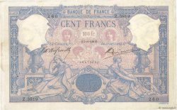100 Francs BLEU ET ROSE  FRANCE  1903 F.21.17