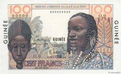 100 Francs type 1956 GUINÉE  1956 K.393 pr.NEUF
