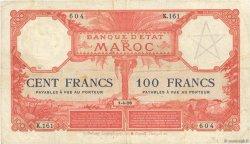 100 Francs 1920 MAROC  1926 P.14 pr.TTB