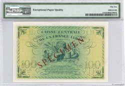 100 Francs FRENCH EQUATORIAL AFRICA Brazzaville 1941 P.13s aUNC