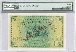 100 Francs AFRIQUE ÉQUATORIALE FRANÇAISE  1941 P.13s aUNC