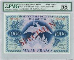 1000 Francs Phénix AFRIQUE ÉQUATORIALE FRANÇAISE  1944 P.19s2 SPL