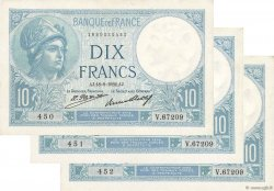 10 Francs MINERVE FRANCE  1932 F.06.16 XF+