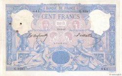 100 Francs BLEU ET ROSE  FRANCE  1897 F.21.10