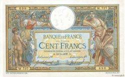 100 Francs LUC OLIVIER MERSON avec LOM FRANCE  1909 F.22.02 VF