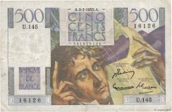 500 Francs CHATEAUBRIAND  FRANCE  1953 F.34.13