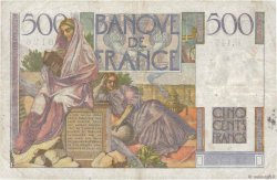 500 Francs CHATEAUBRIAND FRANCE  1953 F.34.13 F