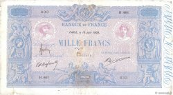 1000 Francs BLEU ET ROSE  FRANCE  1903 F.36.17