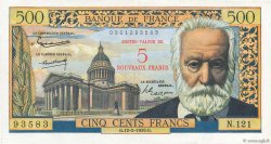 5 NF sur 500 Francs Victor HUGO  FRANCE  1959 F.52.02