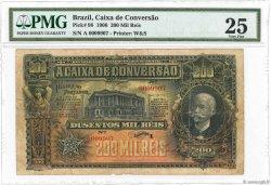 200 Mil Reis BRÉSIL  1906 P.098 pr.TB