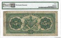5 Dollars CANADA  1913 PS.1378a aF