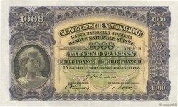 1000 Francs SUISSE  1939 P.37e pr.SUP