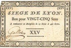 25 Sous FRANCE  1793 Kol.136b TTB+