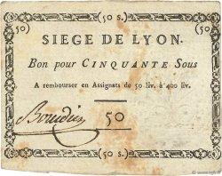 50 Sous FRANCE  1793 Kol.137a TTB+