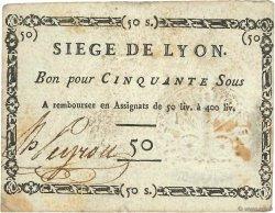 50 Sous FRANCE  1793 Kol.137d TTB
