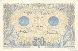 20 Francs BLEU FRANCE  1913 F.10.03 pr.NEUF