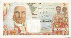 100 Francs La Bourdonnais AFRIQUE ÉQUATORIALE FRANÇAISE  1946 P.24 XF