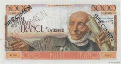 5000 Francs Schoelcher AFRIQUE ÉQUATORIALE FRANÇAISE  1946 P.27s SUP