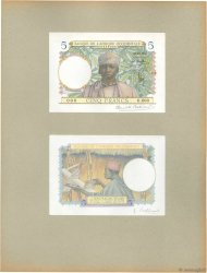 5 Francs FRENCH WEST AFRICA  1934 P.21s UNC