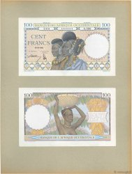 100 Francs Épreuve FRENCH WEST AFRICA (1895-1958)  1936 P.23p