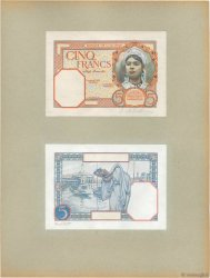 5 Francs ALGERIA  1924 P.77p UNC