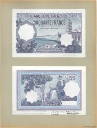 50 Francs ALGERIA  1924 P.79p UNC