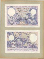 100 Francs ALGERIA  1924 P.81p UNC