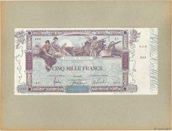 5000 Francs FLAMENG FRANCE  1918 F.43.00 SUP