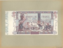 5000 Francs FLAMENG Épreuve FRANCE  1918 F.43.00Ec