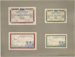 1 et 5 Francs Spécimen FRANCE regionalism and miscellaneous  1923 JP.135.05s/06s
