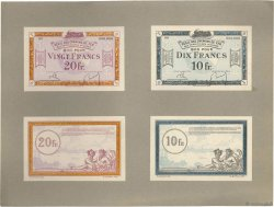 10 et 20 Francs Spécimen FRANCE regionalism and miscellaneous  1923 JP.135.07s/08s