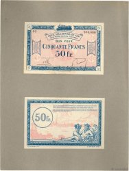 50 Francs Spécimen FRANCE regionalism and miscellaneous  1923 JP.135.09s XF