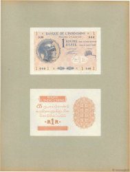 1 Roupie Épreuve FRENCH INDIA  1928 P.04p